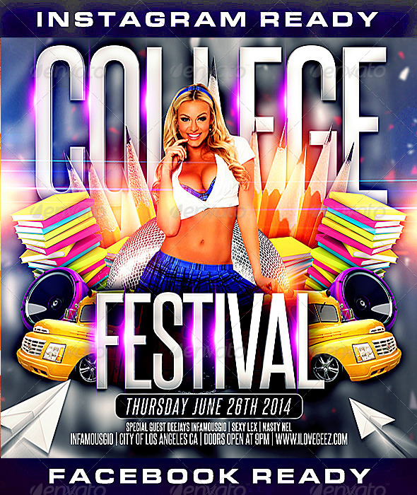 GraphicRiver College Flyer 5 8005384