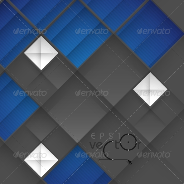 GraphicRiver Abstract 3D Geometrical Design 8005399