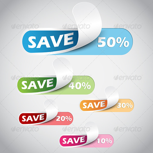 GraphicRiver Sale Label 8005431