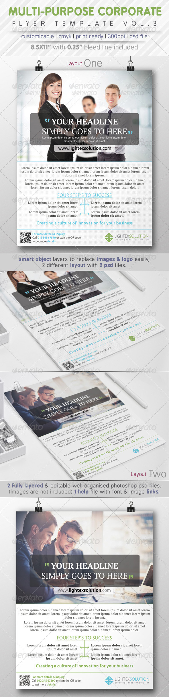 GraphicRiver Corporate Flyer Ads Vol.3 8005581