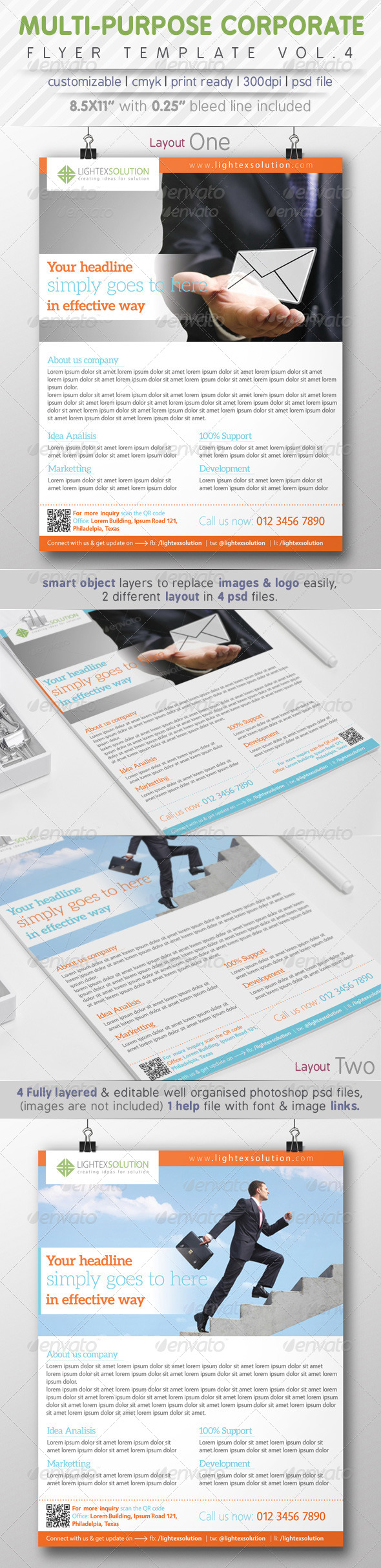 GraphicRiver Corporate Flyer Ads Vol.4 8005630