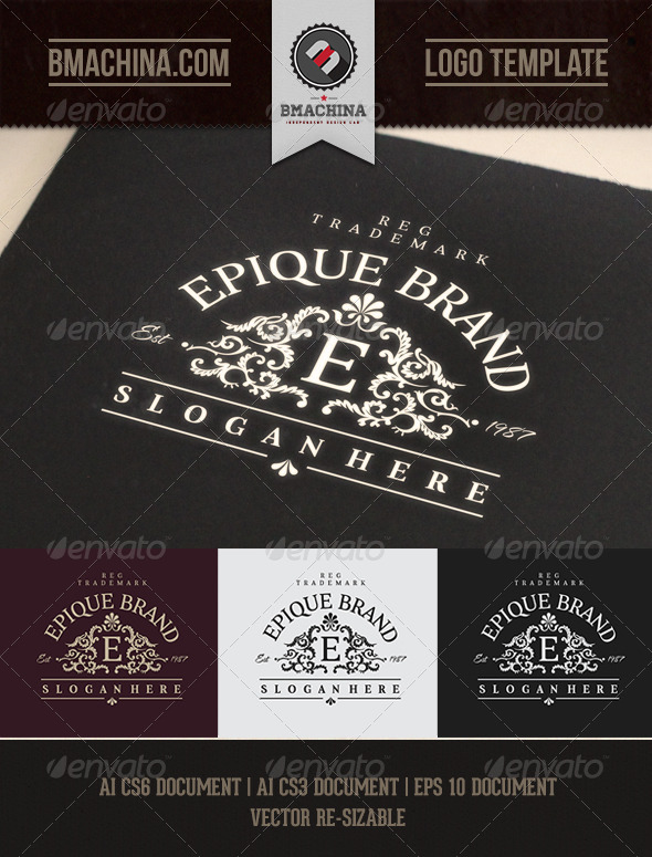 GraphicRiver Epique Brand Logo Template 8005666