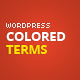 Colored Terms - WordPress Taxonomy Terms Color - CodeCanyon Item for Sale