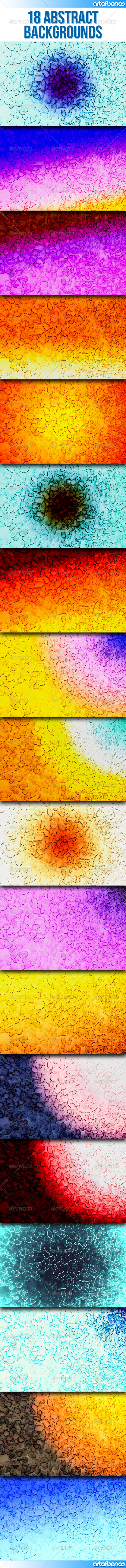 18 Abstract Backgrounds Part 2