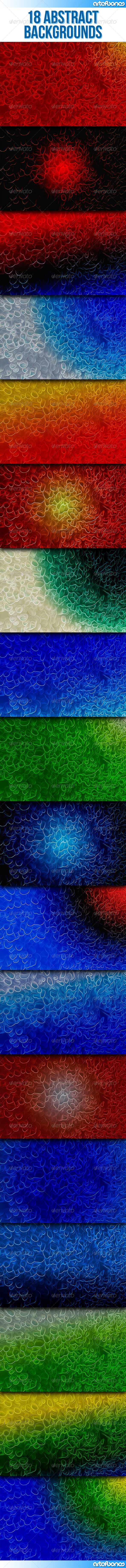 GraphicRiver 18 Abstract Backgrounds Part 1 8000212