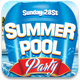 Summer Pool Party Facebook Cover - GraphicRiver Item for Sale