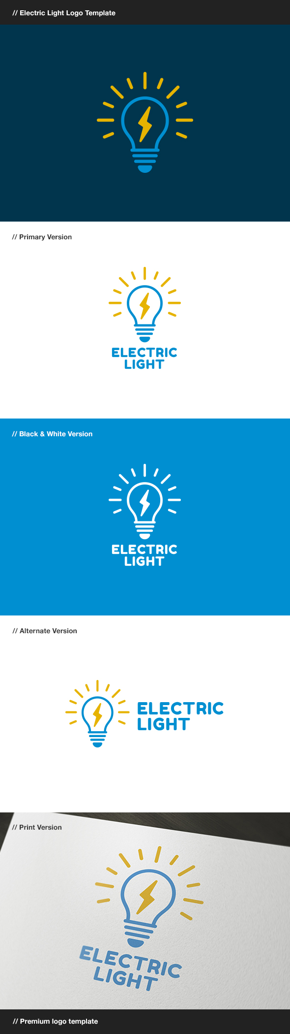 GraphicRiver Electric Light 8006393