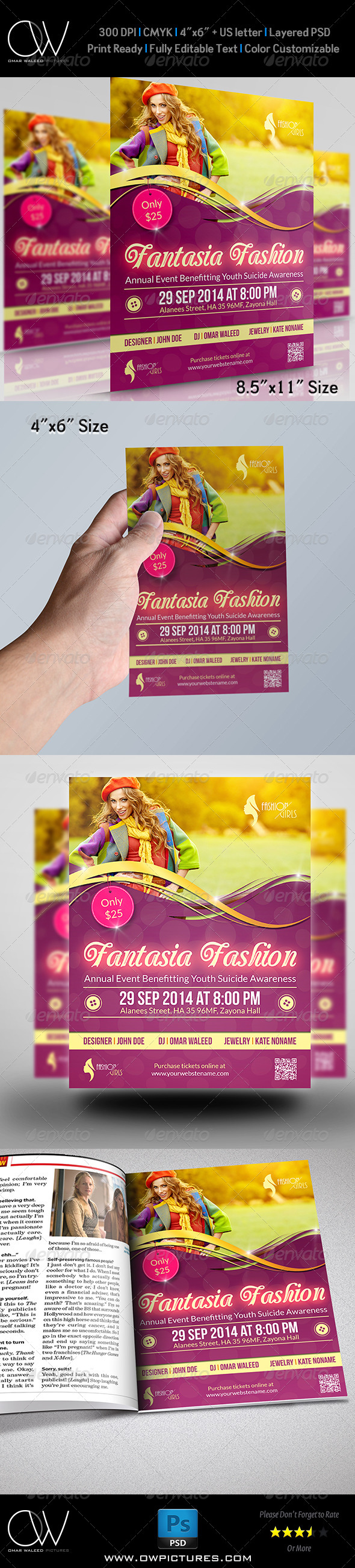 GraphicRiver Fashion Flyer Template Vol.2 8006827