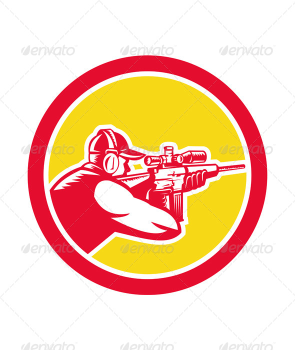 GraphicRiver Shooter Aiming Rifle Circle 8007352