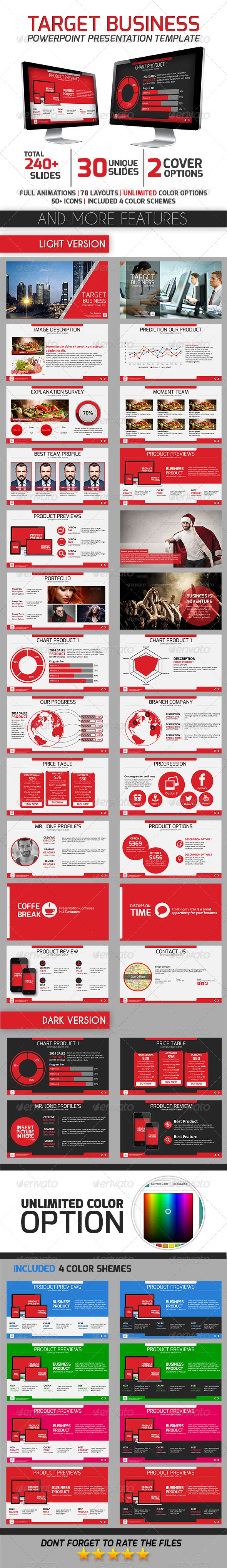 GraphicRiver Target Business 8007922