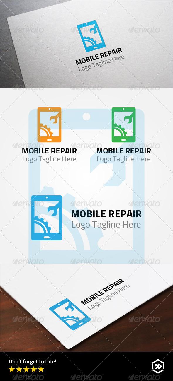 GraphicRiver Mobile Repair Logo 8008255