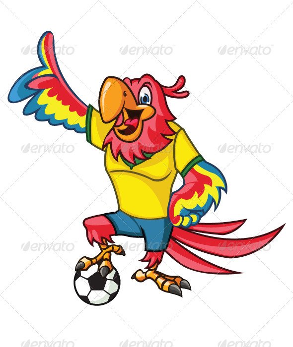 GraphicRiver Soccer Parrot 8008269