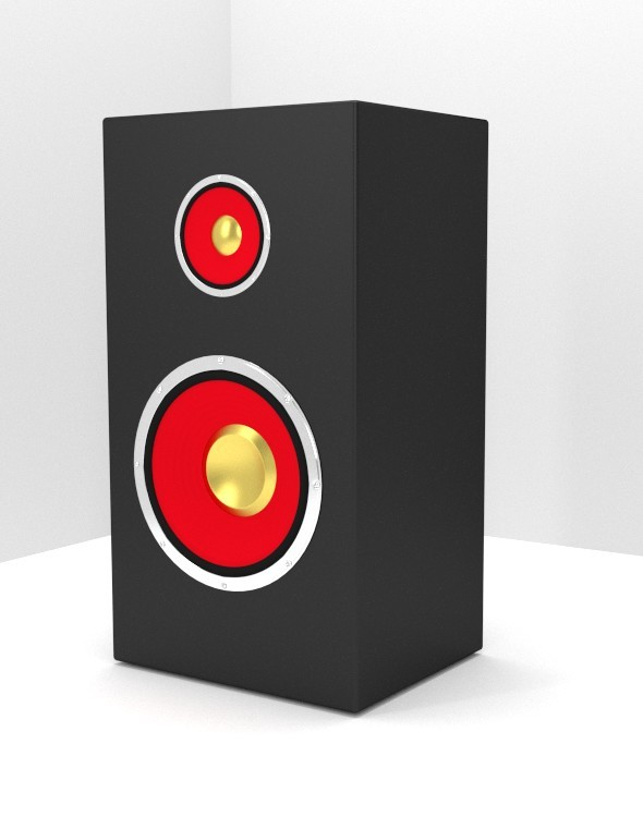 3DOcean Speaker 8008507