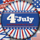 July 4th Badges - GraphicRiver Item for Sale
