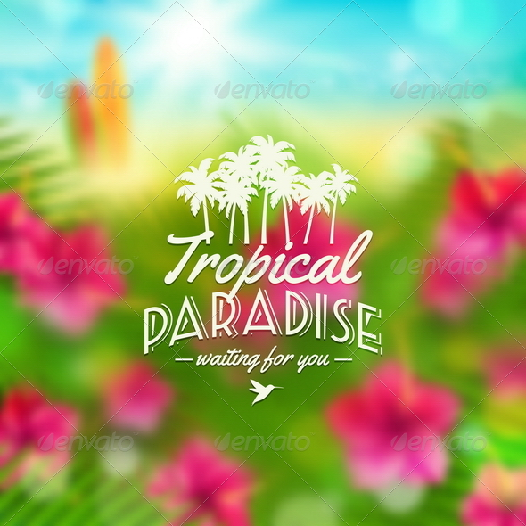 GraphicRiver Summer Vacation Type Design 8008560