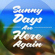 Summer Tropical Holidays Type Design