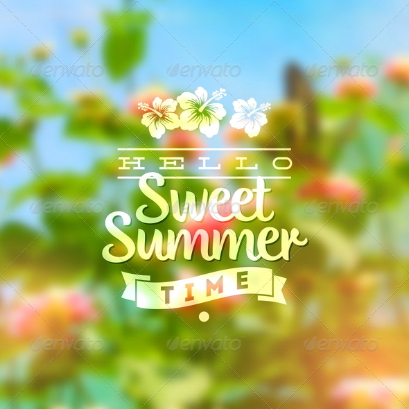 GraphicRiver Summer Holidays Type Design 8008578
