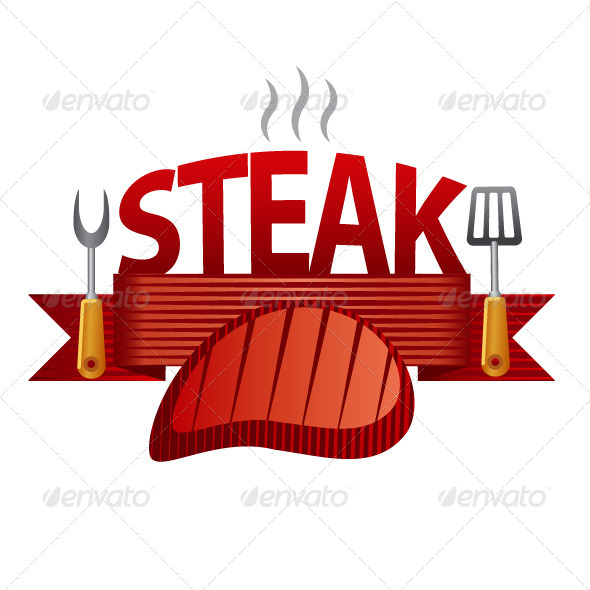 GraphicRiver Steak Banner 8008593