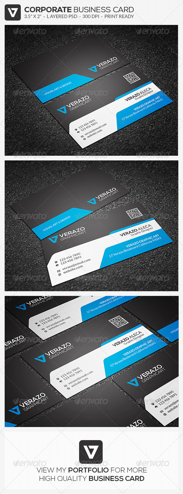GraphicRiver Corporate Business Card 41 8008599