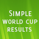 Simple World Cup Results (Social Networking) Download