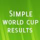 Simple Hasil Piala Dunia - WorldWideScripts.net Barang Dijual