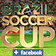 Brasil Soccer Cup Facebook Timeline - GraphicRiver Item for Sale