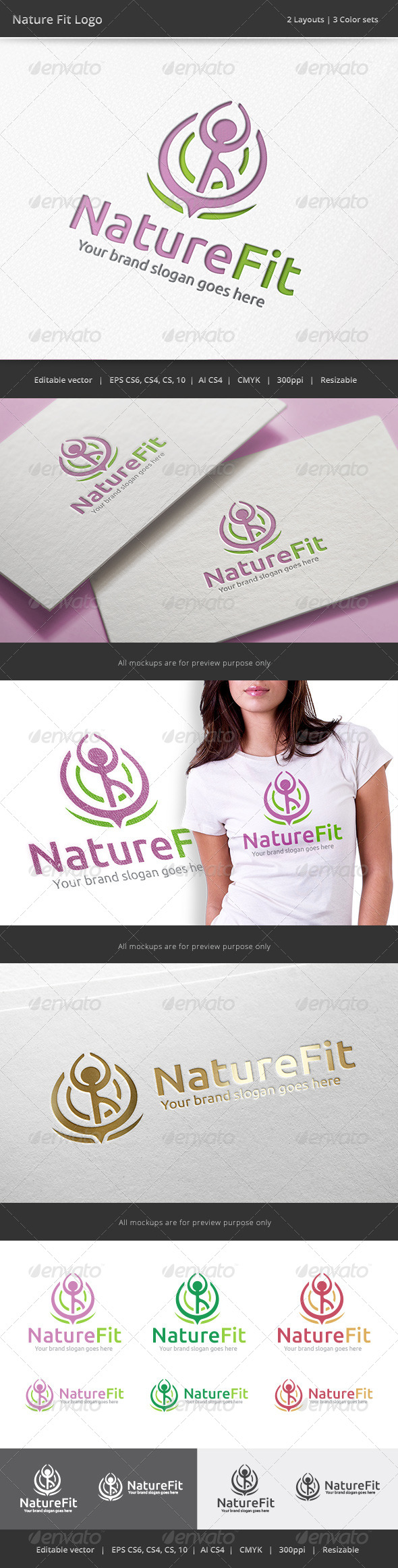 Nature Fit Logo