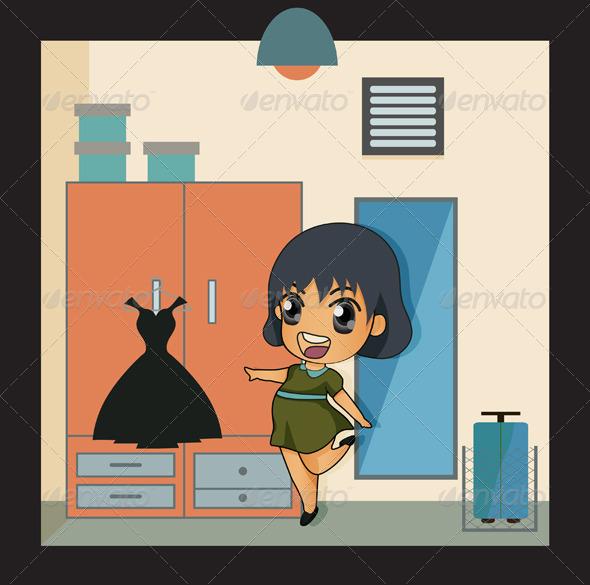 GraphicRiver Dressing Room 8008949