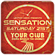Sensation - Flyer - GraphicRiver Item for Sale