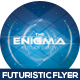 Enigma Futuristic Flyer Design - GraphicRiver Item for Sale