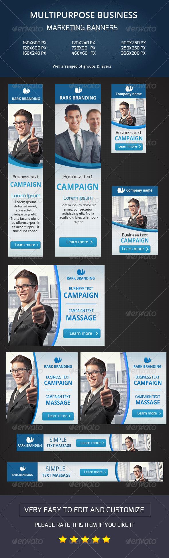 GraphicRiver Business Web Banner-V01 8009655