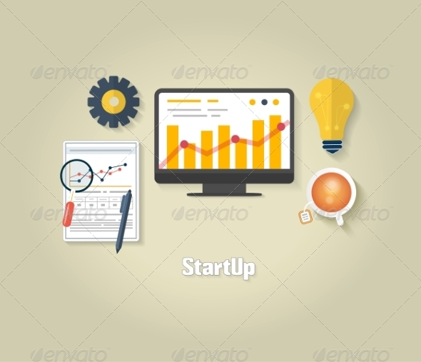 GraphicRiver Start Up Business Concept 8009707