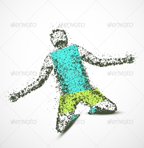 GraphicRiver Abstract Man 8009731