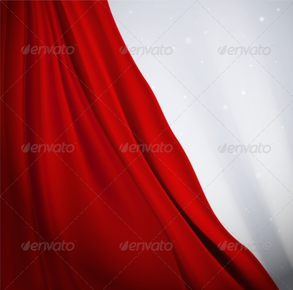 GraphicRiver Red Curtain 8009738