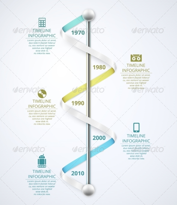 GraphicRiver Timeline Infographic 8009743