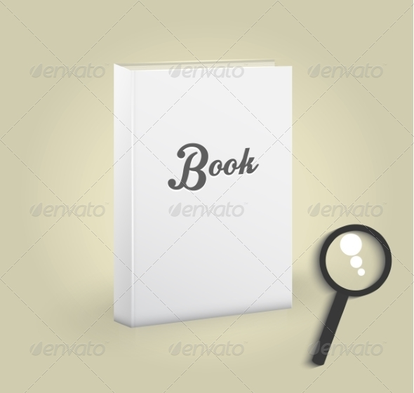 GraphicRiver Book with Magnifying Glass 8009748
