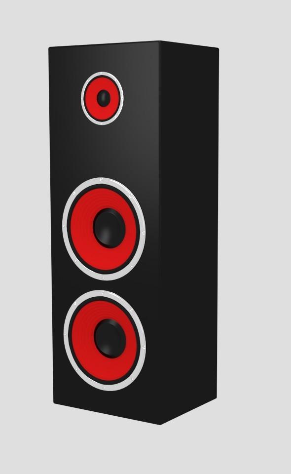 3DOcean Big Speaker 8009898