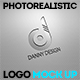 Photorealistic Logo Mock Up - GraphicRiver Item for Sale