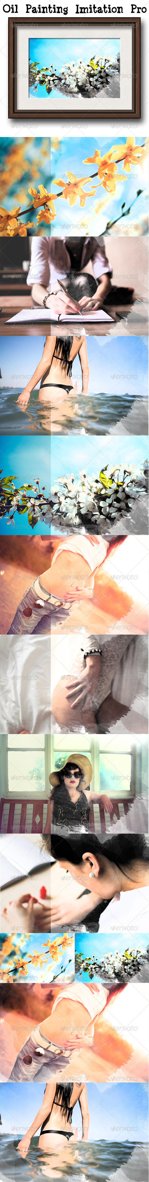 GraphicRiver Oil Painting Imitation Pro Vol 2 8010243