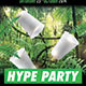 Hype Jungle Green Cups Hip Hop Party Flyer - GraphicRiver Item for Sale