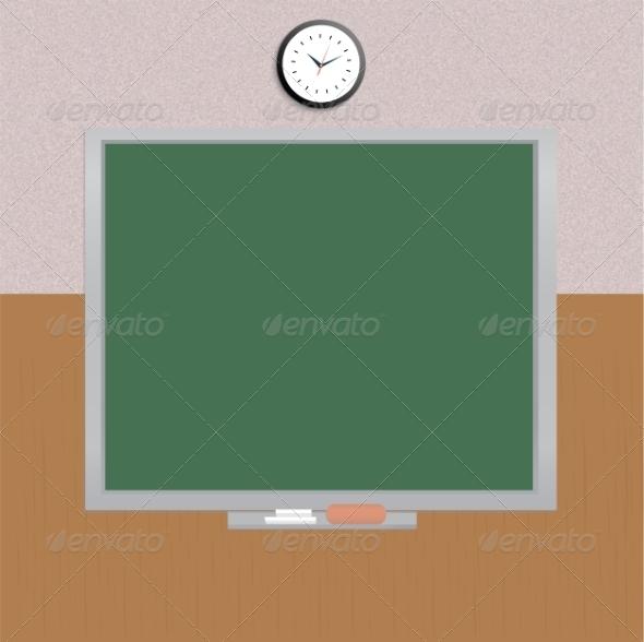 GraphicRiver School Board 8010333