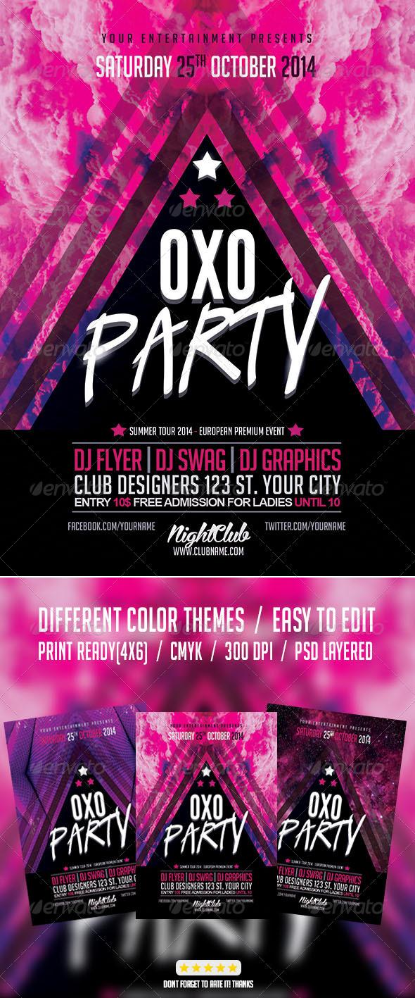 GraphicRiver Electro Club Party 8010907