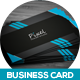 Pixel Creative Business Card v-04 - GraphicRiver Item for Sale