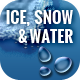 Ice and Snow Thawing on Paper - GraphicRiver Item for Sale