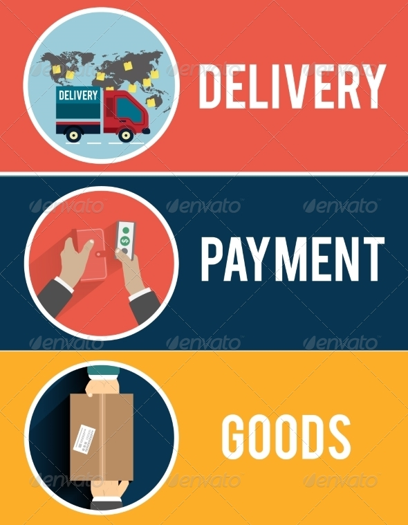 GraphicRiver Internet Shopping and Delivery 8011571