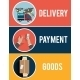 Internet Shopping and Delivery - GraphicRiver Item for Sale