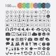 Set of Icons Web Design Elements - GraphicRiver Item for Sale