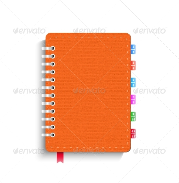 GraphicRiver Leather Notebook 8011828