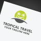 Tropical Travel Logo - GraphicRiver Item for Sale