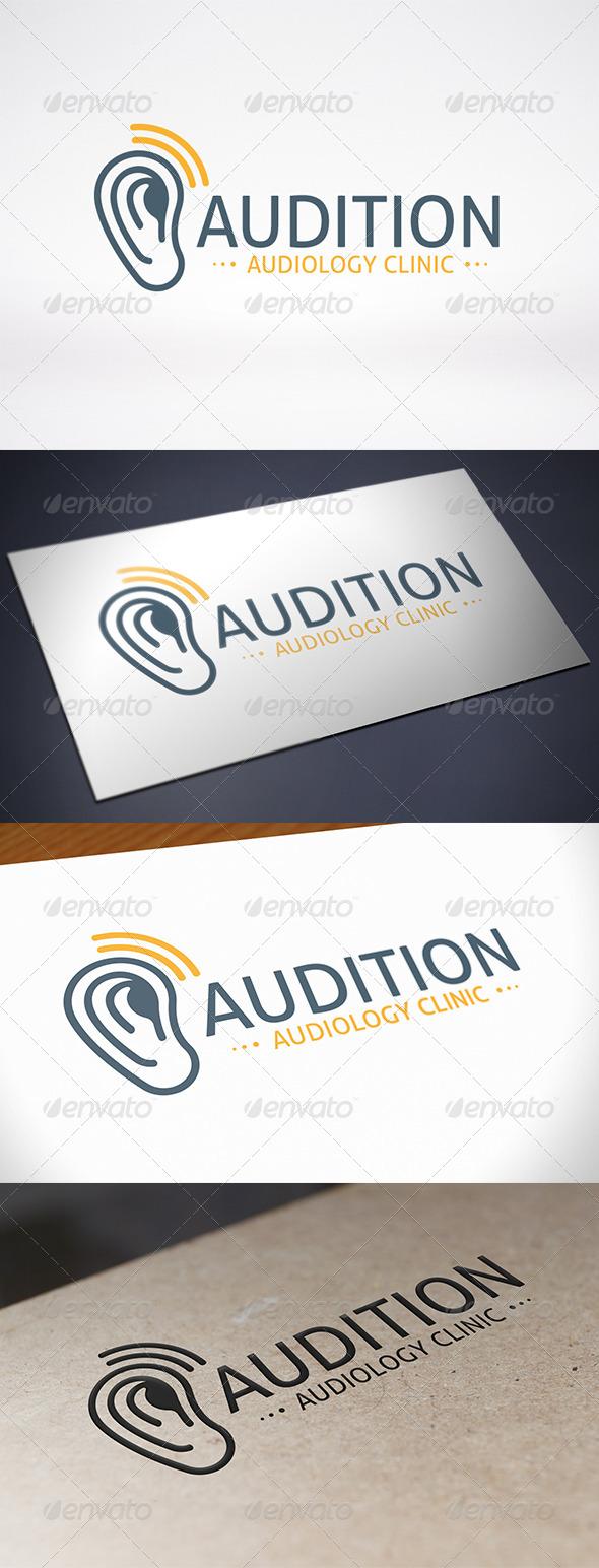 GraphicRiver Ear Logo Template 8011989